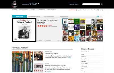 eMusic (Europe) Review - Online Music Service