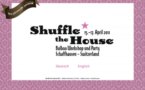 Shuffle The House Balboa Workshop 2011