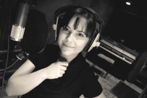 Little Kim in the Studio