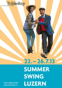 Summer Swing Luzern 2013 Flyer