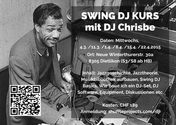 Swing DJ Kurs 2015 mit DJ Chrisbe