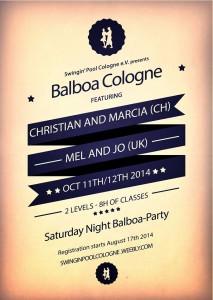 Balboa Cologne III 2014 mit Christian und Marcia