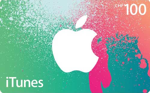 iTunes Geschenkkarten - Aktion
